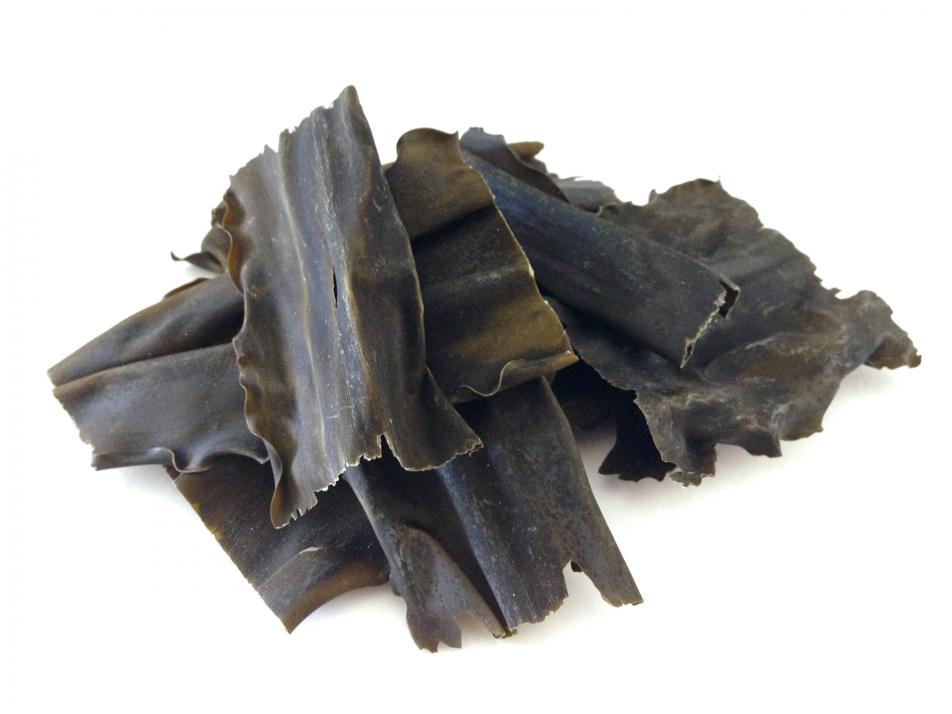 配合富含水溶性植物纖維的北海道產「籠目褐藻」