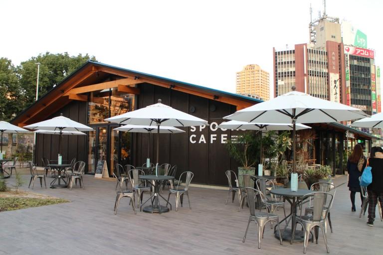大阪天王寺公園 SPOONS CAFE011