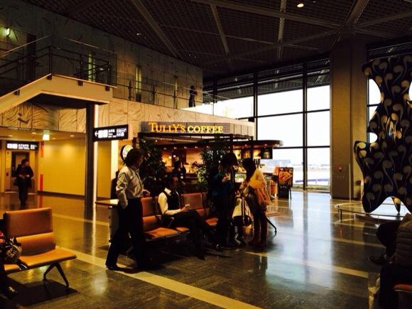 成田機場第一航廈 Tully's Coffee002