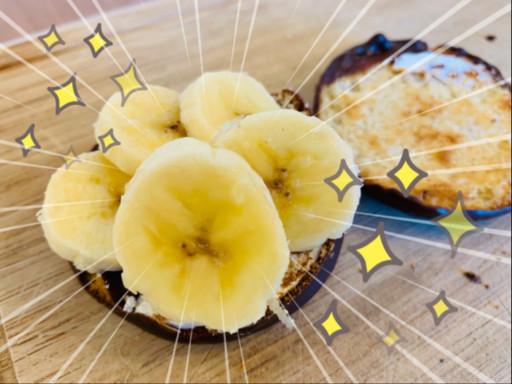 「巧克力派(附鮮奶油)+香蕉」