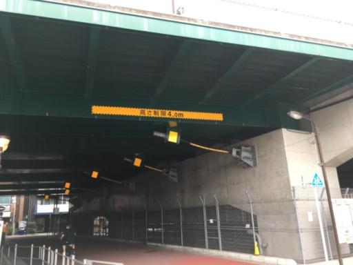 椎名町高架橋下